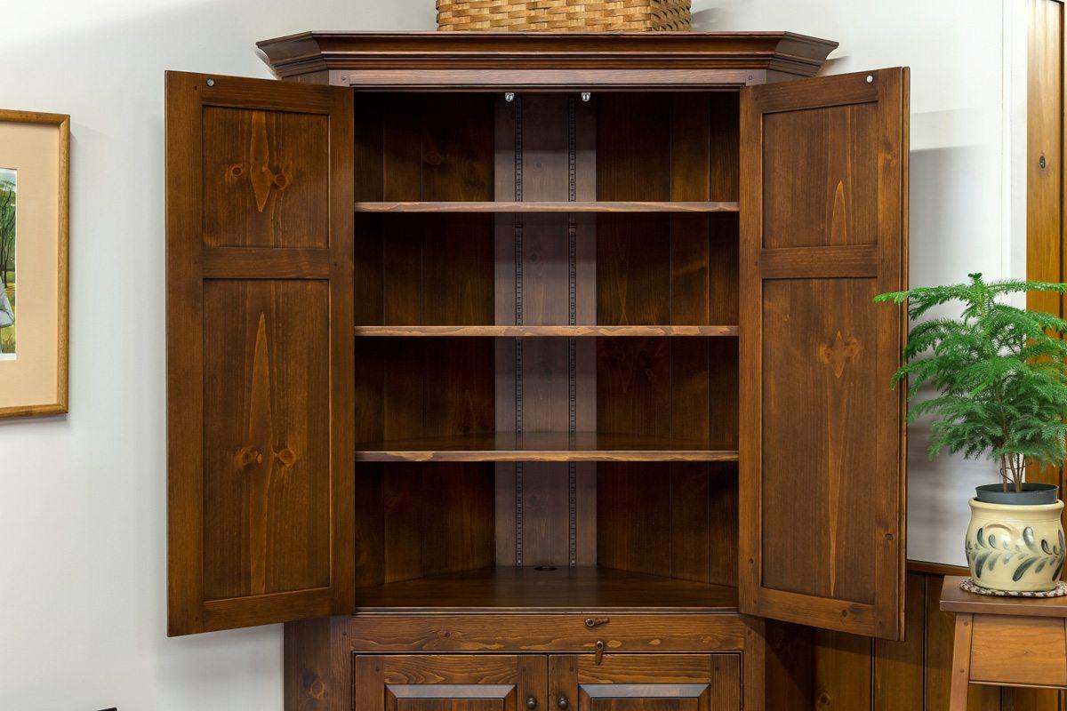 Large Blind Corner Cabinet Shaker Shoppe