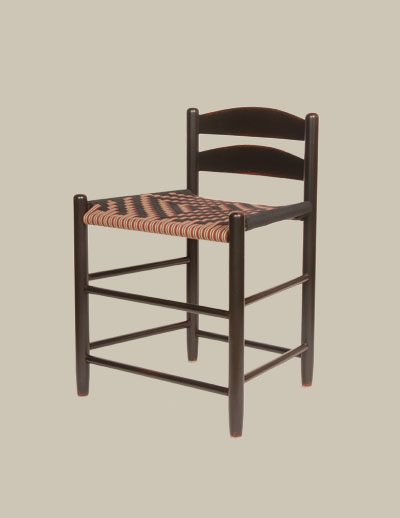 Two Slat Low Back Chair