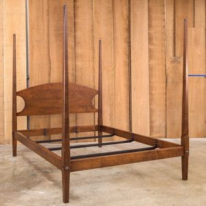 Pencil Post Bed in a queen size
