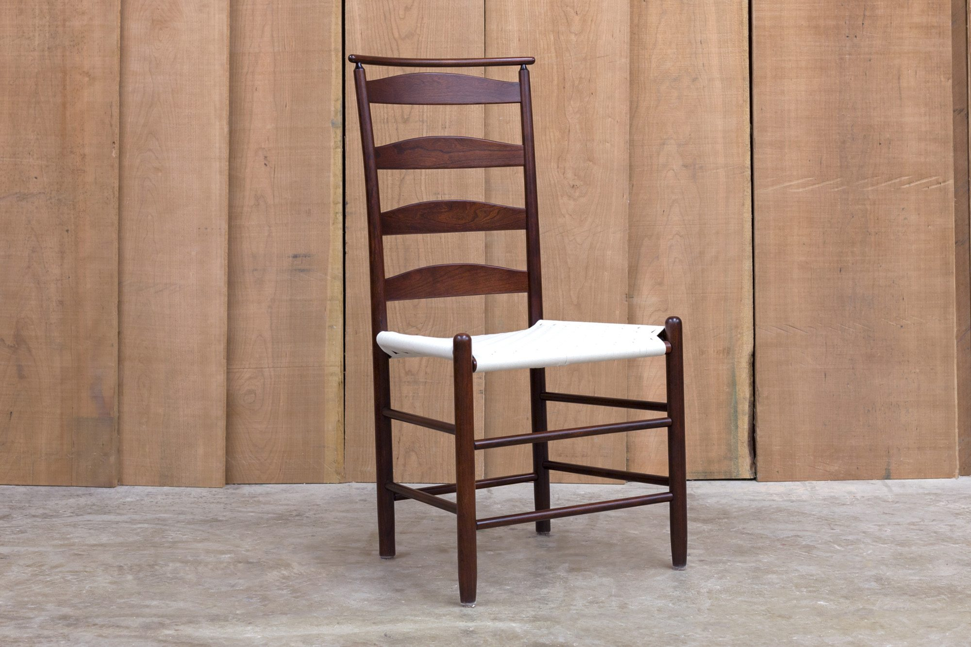 Shaker Shawl Back Side Chair