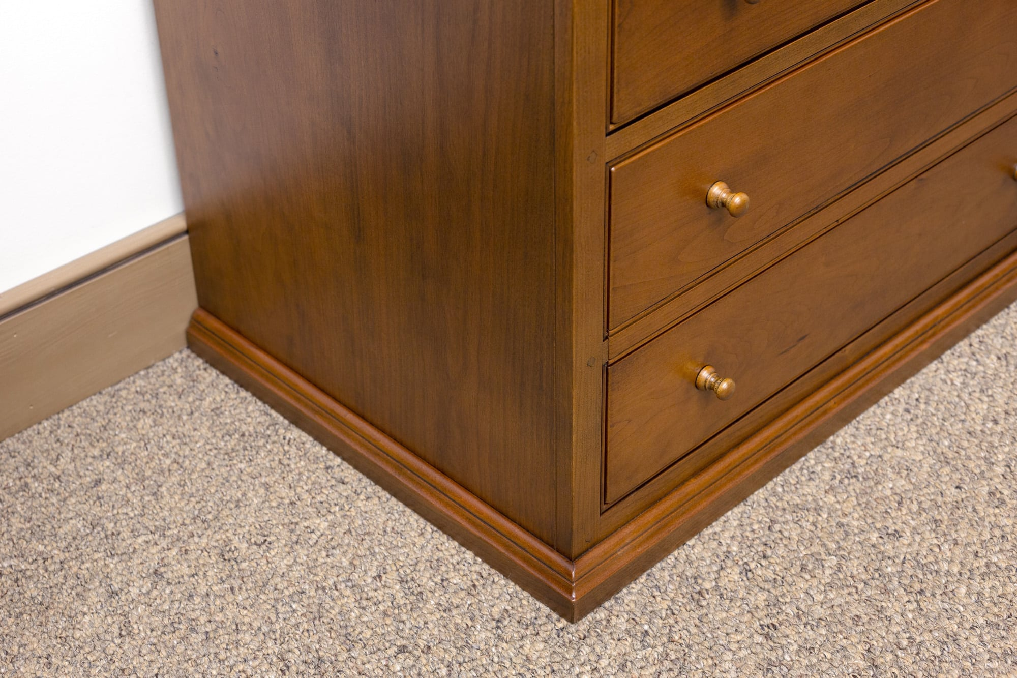 Drawer Wood Kitchen Cabinet  High  Wide  Deep