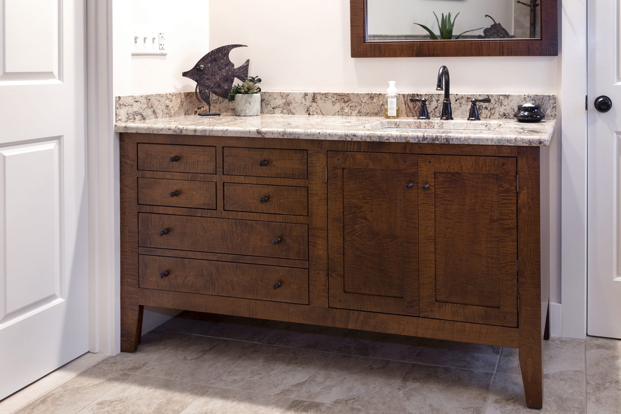 Shaker Style Bathroom Vanities Of High