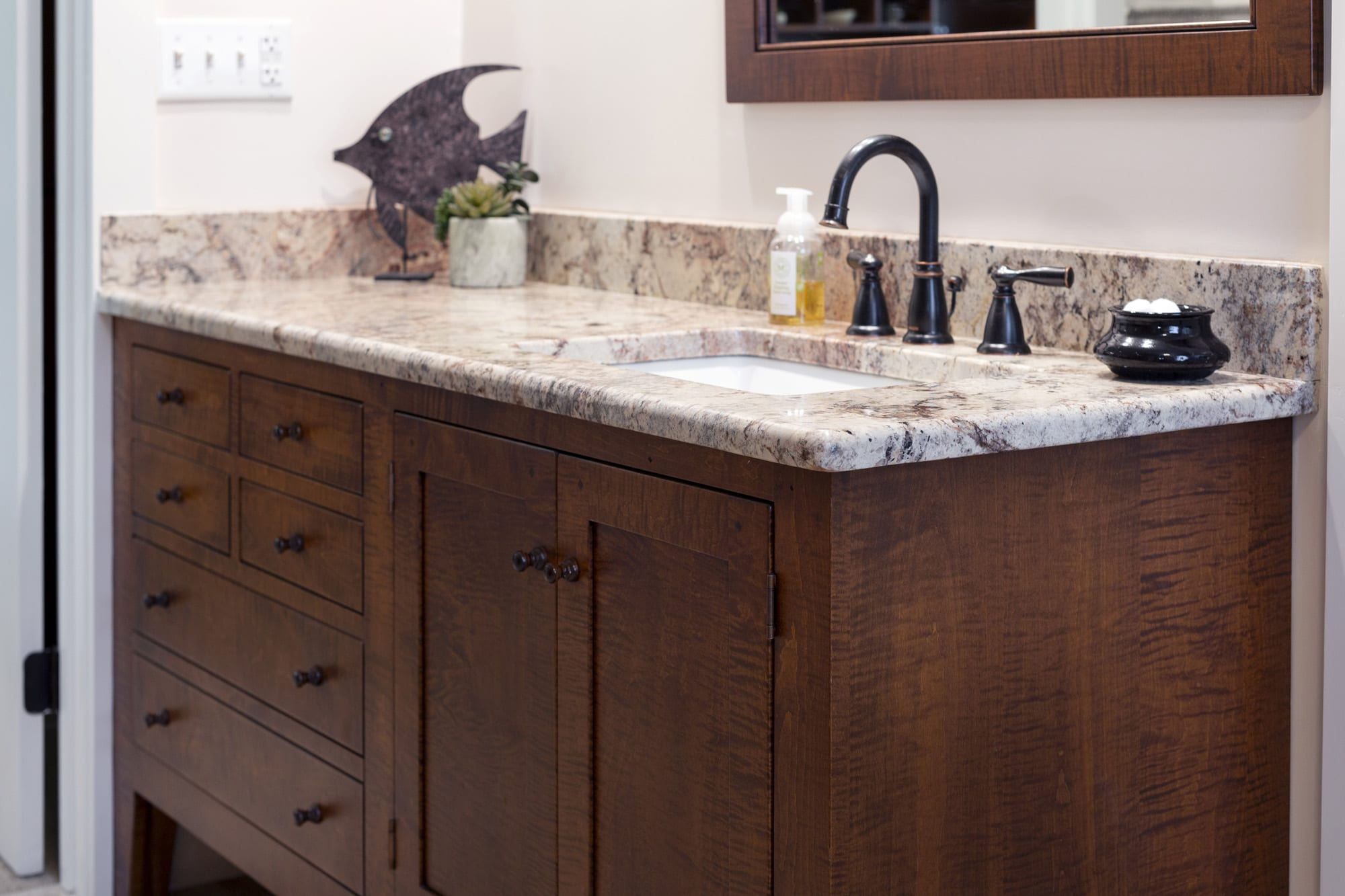 Shaker Style Bathroom Vanities of high-quality in Tiger ...