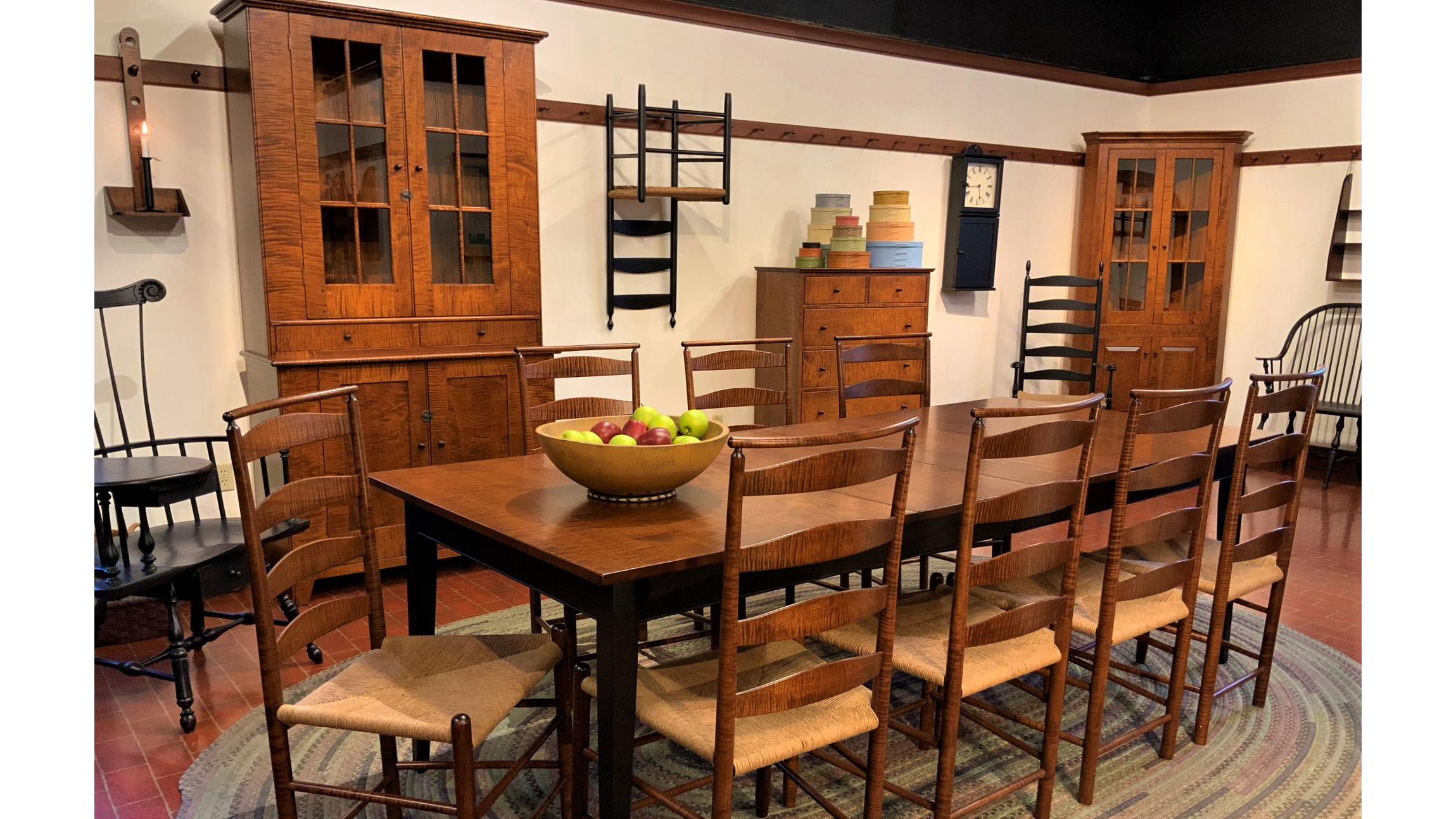 Authentic Reproduction Shaker Furniture Hand Made In The Usa