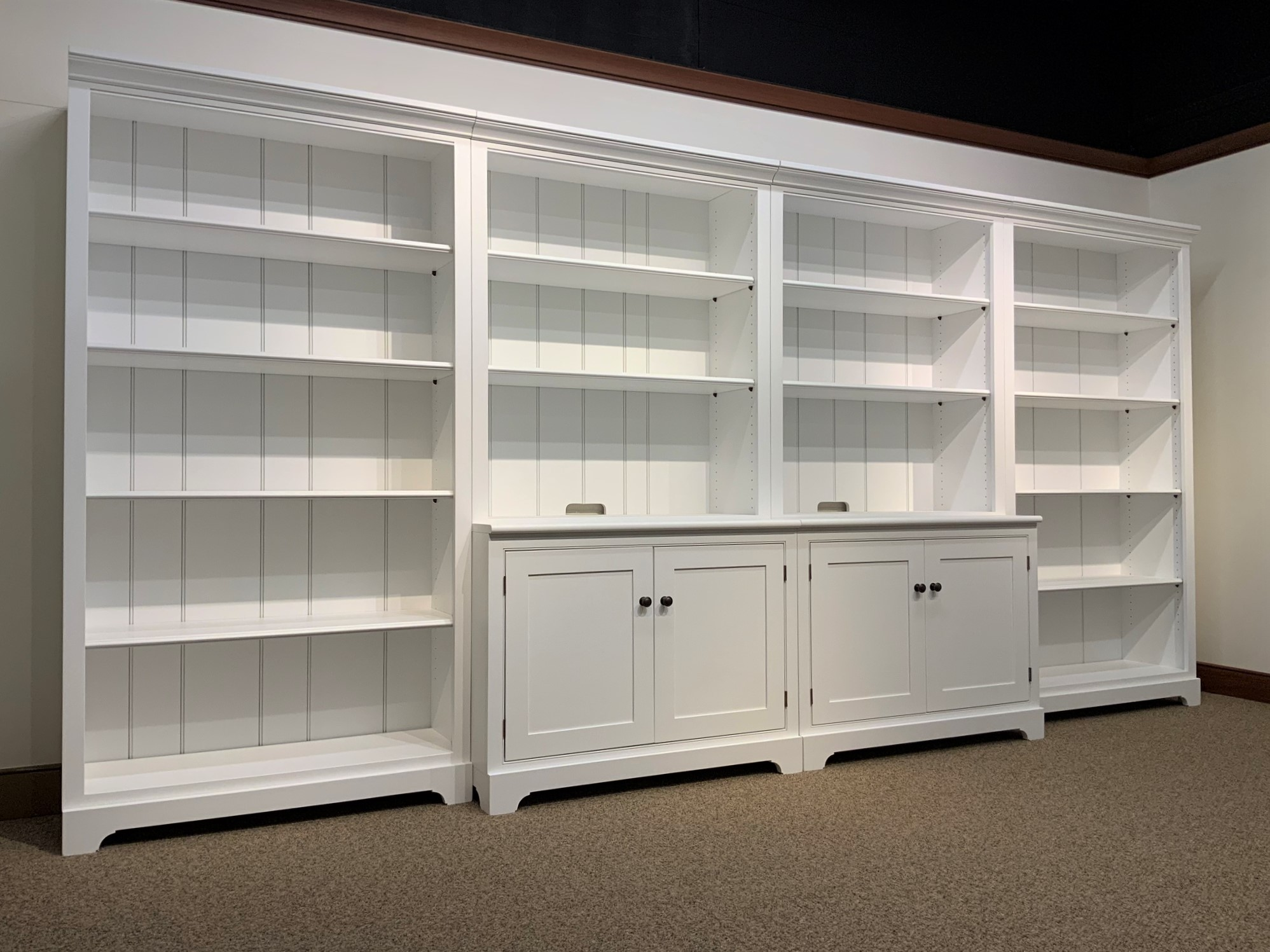Shaker Home Entertainment Bookcase