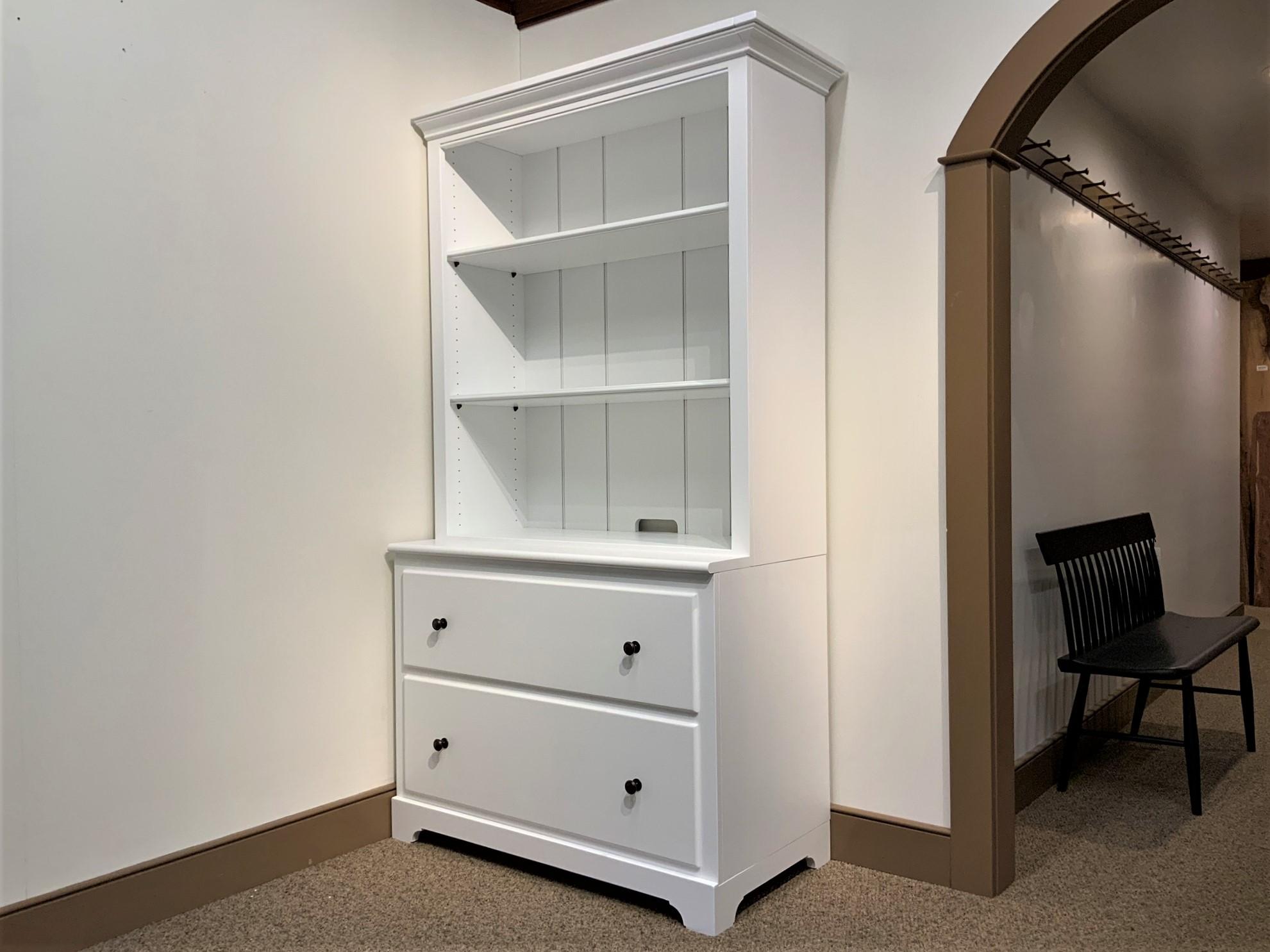 Shaker Home Entertainment Bookcase